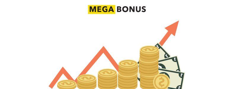 Megabonus снижает минимальную сумму вывода кешбека