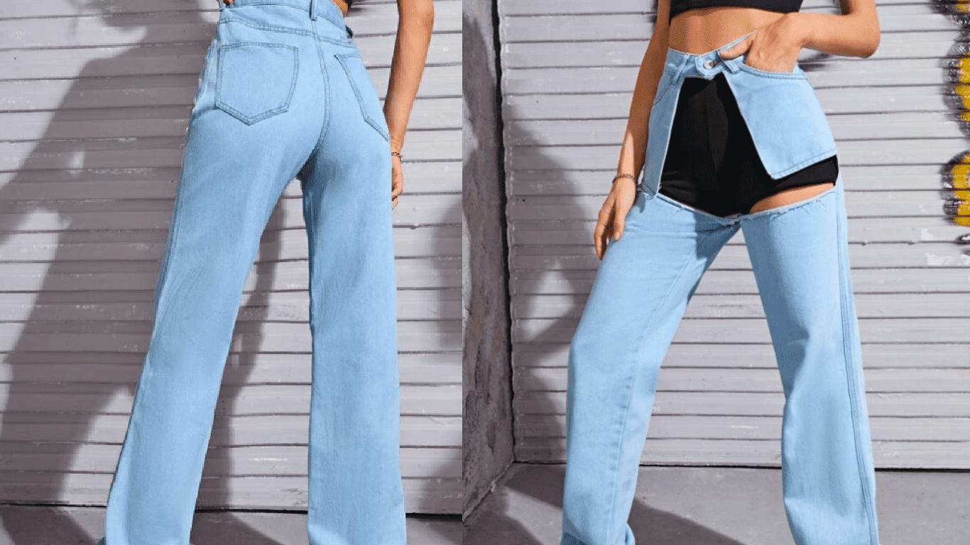 Странные джинсы шейн