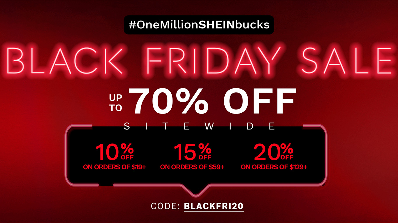 The Best of Shein Curve: Black Friday Deals 2020