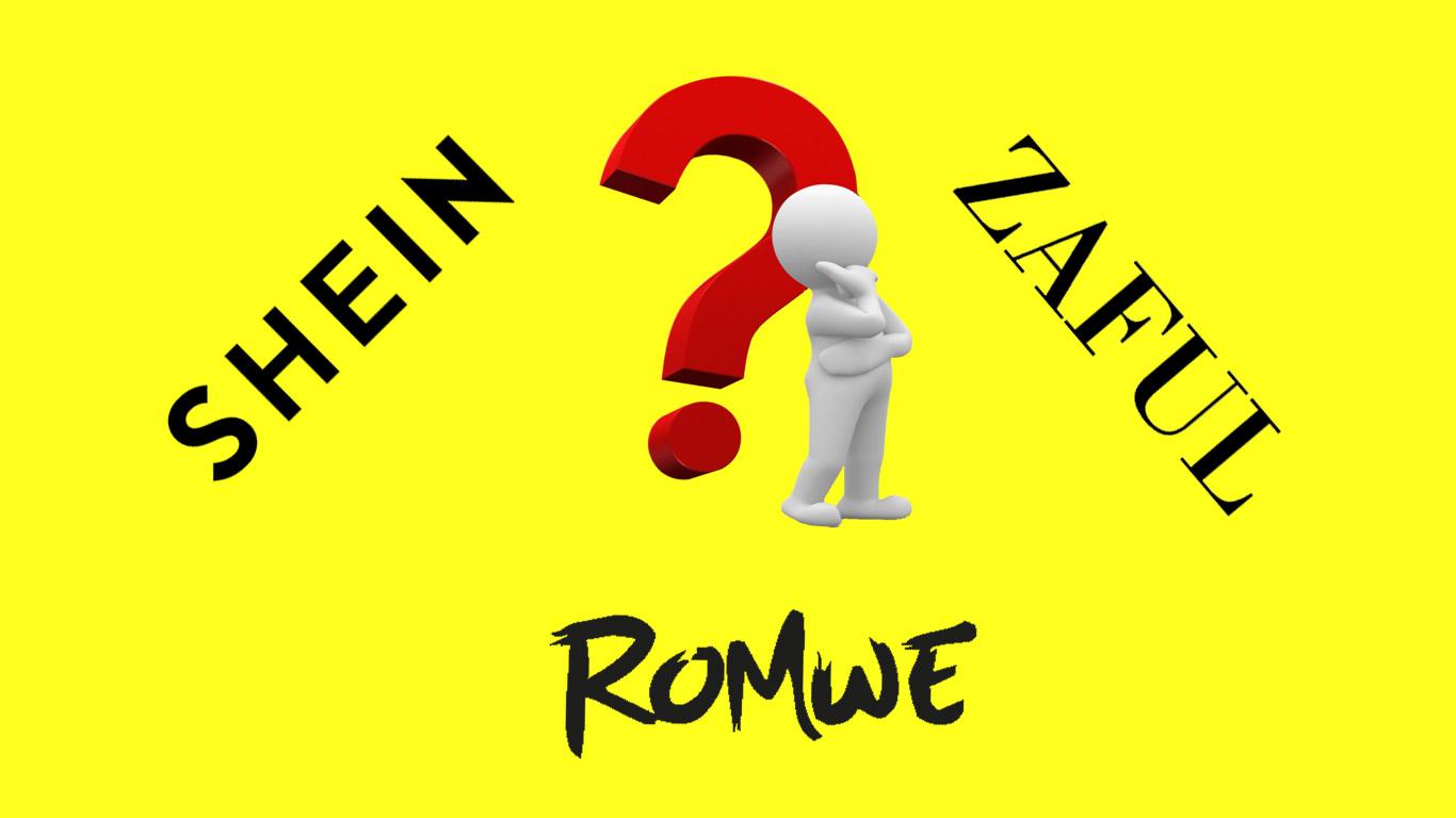 Shein, Zaful, and Romwe Comparison