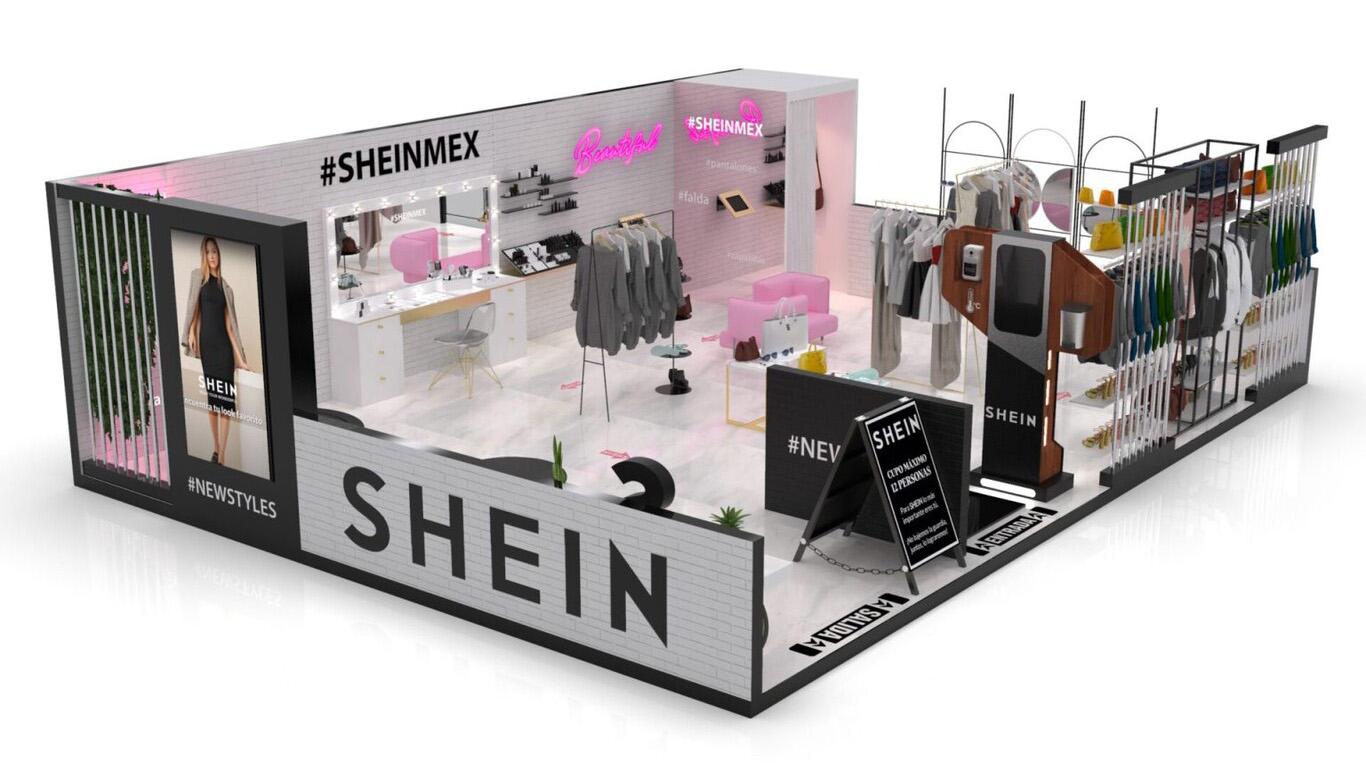 Shein Pop-Up Store Opened in Mexico City