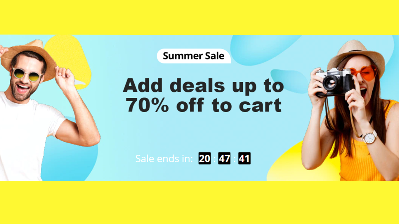 The Last Day of the Summer Sale on AliExpress!