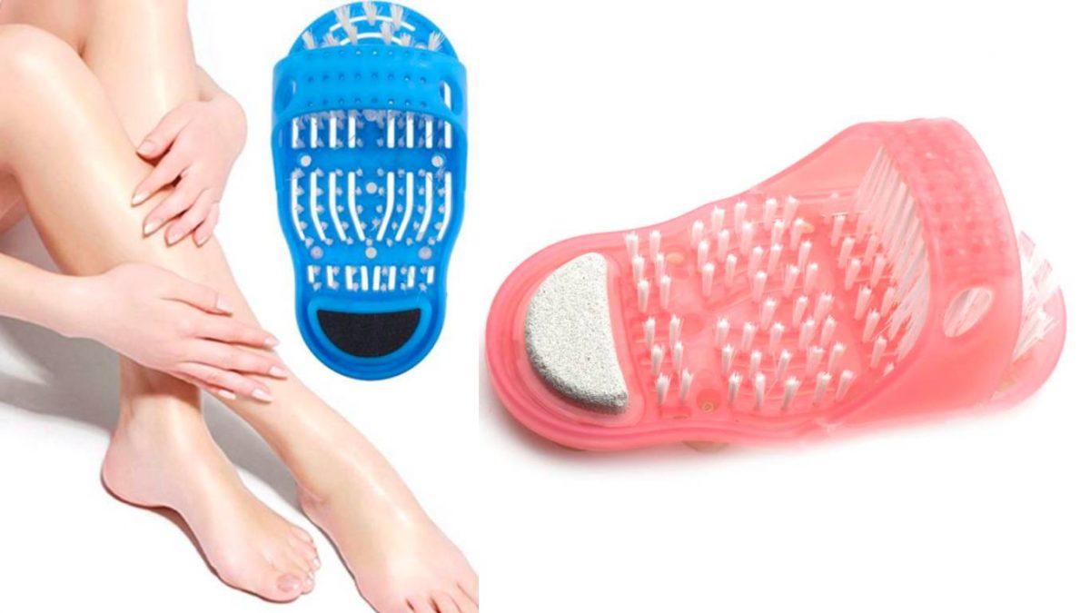 feet scrubber